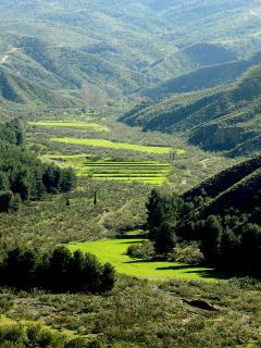 José Ángel Rodríguez es autor de esta soberbia foto del valle de los llamados Cortijos de la Semana.