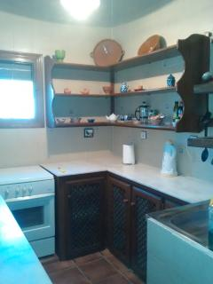 Fully equipped kitchen including full oven, microwave,  kettle and toaster