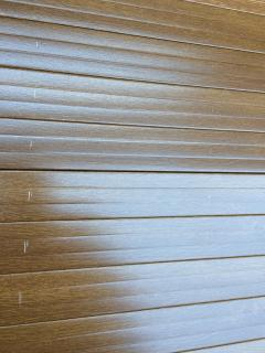 shutter striped by Jkillo who complain i kept a part of his deposit to repair this