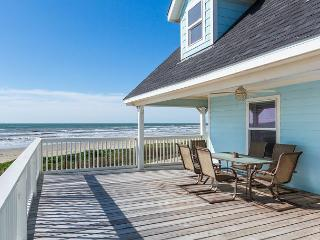 4BR Galveston Beachfront Beauty w/Gulf Views