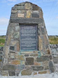 Memorial at Back