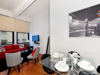 Trendy Tribeca 3BR/1BA in the Financial District, New York City
