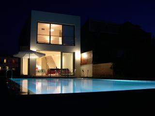 Blue Sea Luxury Villa by night