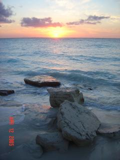 Sunset on Grace Bay