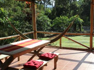 Experience abundant tropical nature; 25 acres