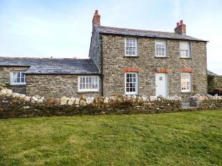HOME FARM COTTAGE, stone cottage, woodburner, open fire, private garden, Boscastle, Ref 920461