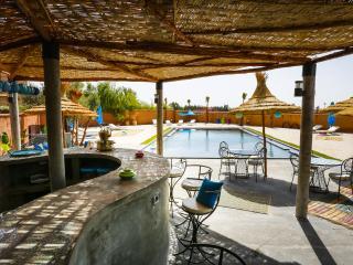 TCHINA-MANDARINA, 2 piscines dont intérieure à 29°, Region Marrakesch-Tensift-El Haouz
