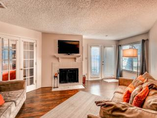 New Listing! Contemporary 2BR Arlington Condo w/Wifi, Fireplace & Private Patio - Unbeatable Location Near AT&T Stadium, Six Flags & More!