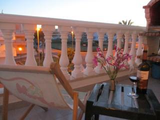 Apartamento com 1 quarto perto da praia de Cabanas