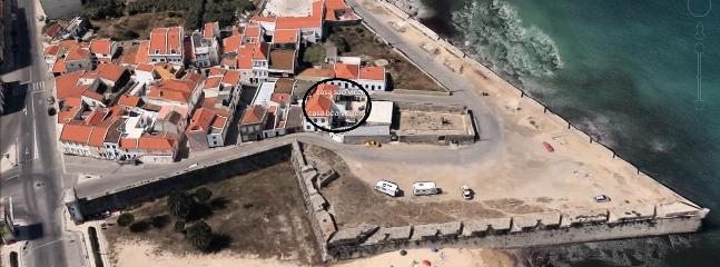 Casa Sao Vicente and Casa Boa Viagem are jointed together in the black circle, perfectly situated