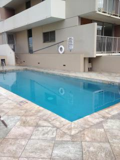 Outdoor pool on 4th floor.