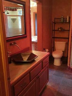 Separate shower/bathroom