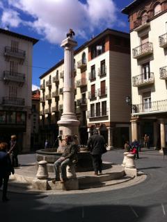 fachada. Plaza del torico