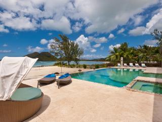 Sand Castle - Luxury Beach House in Jolly Harbour, Antigua - Beachfront, Gated