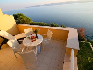 Villa Ruzmarina directly above the Private Beach