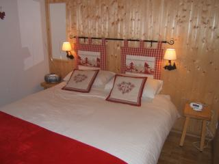Apt sleeps 4/5. 2 mins to village. Free wifi, Samoens