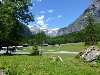 Easy walking in the Sixt nature reserve
