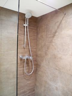 Douche italienne privative chambre parentale