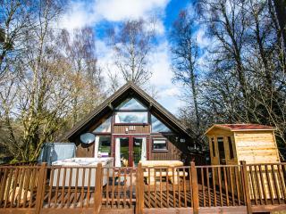 Feorag Ruadh Cabin, Dalavich - W/ Hot Tub & Sauna