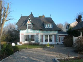 Manoir Normand entre Deauville et Honfleur vue mer