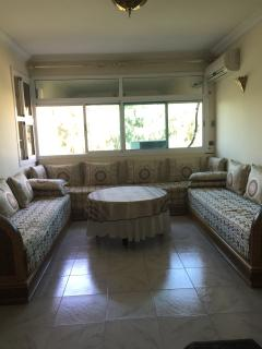 Living-room with Traditional Moroccan Sofas