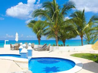 Beautiful 3 bedroom apartment on the beach!, Cozumel