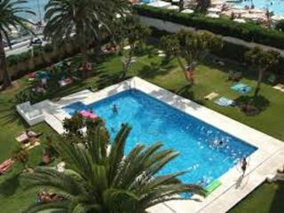 Frontline beach studio in Nerja