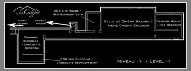 Map of downstairs