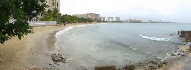 Another beach across the street from us, offering a 2-mile+ stretch for walking or jogging.