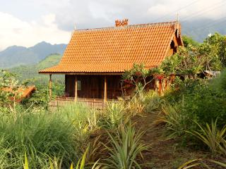 Basuki, wooden romantic house, Pemuteran