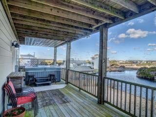 New River Inlet Rd 1597 | Canal Home | Unobstructed Ocean View | Perfectly