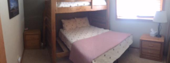 New Queen Bed and Bunk in Guest Bedroom