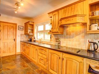 You will enjoy a very well equipped kitchen with everything that's needed to cater for your holiday