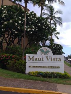 Maui Vista entrance