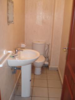 Toilette séparée