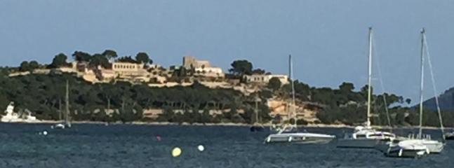 The film set for the night manager. Porto Pollenca, Majorca.