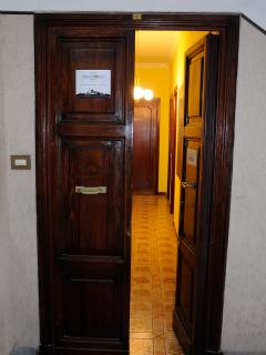 Apartment's entrance