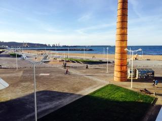 Apartamento primera linea playa Poniente en Gijón VUT.11.AS