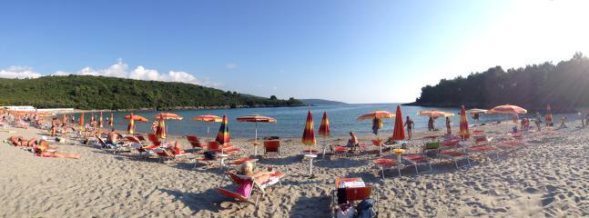 Plavi Horizonti - Strand 800 Meter entfernt