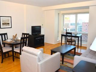 Fully Furnished 1 Bedroom Apartment in Quincy - With Laundry in Unit