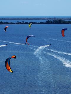 Kite Surf nella Laguna dello Stagnone
