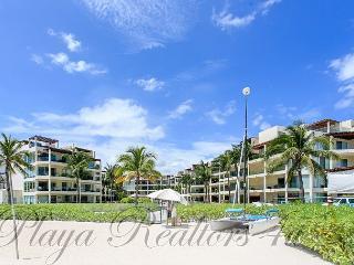 BEACH FRONT + GROUND FLOOR + GYM + PRIVATE BEACH CLUB + BUSINESS CENTER, Playa del Carmen