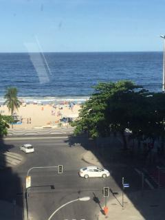 Quadra da Praia Lindo 3 qts Posto 5 - Vista mar !