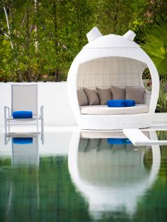 Poolside 'pod' for those lazy afternoons