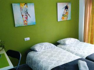 Twin/double dorm, with own balcony in Realejo, Granada