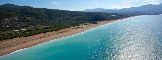 The sea of Kyparissia