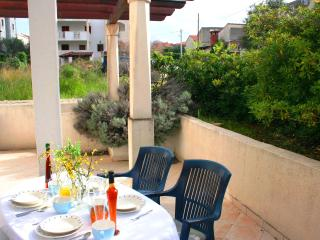 2  ground floor apts with terrace, 300m to beach