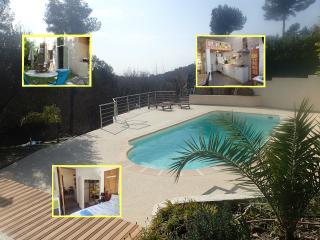 Luna Gauda appartment with pool near sea, La Gaude