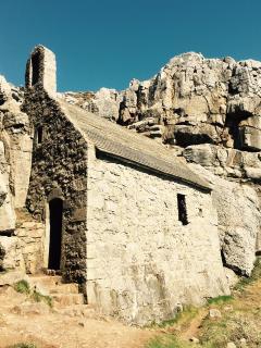 St Govans at Stack Rock
