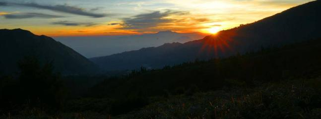 beautifull sunrise in penanjakan